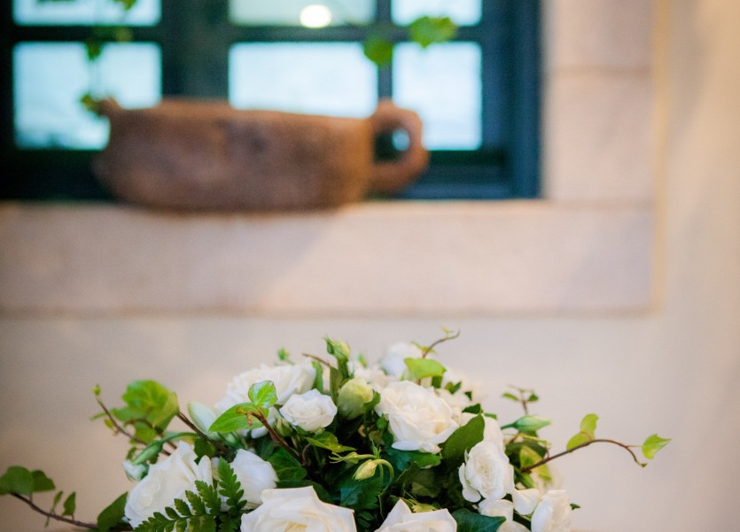 Wedding Flowers and Decoration in Kythera