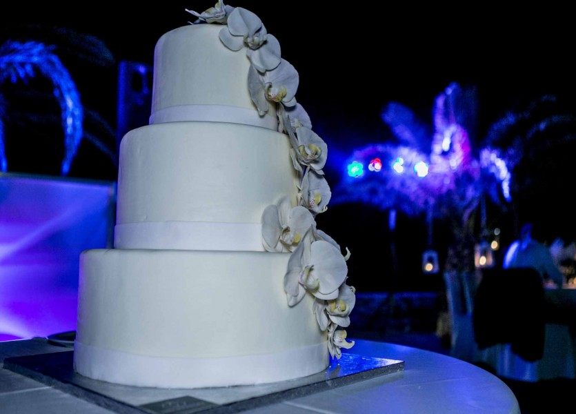 Wedding Cake in Syros