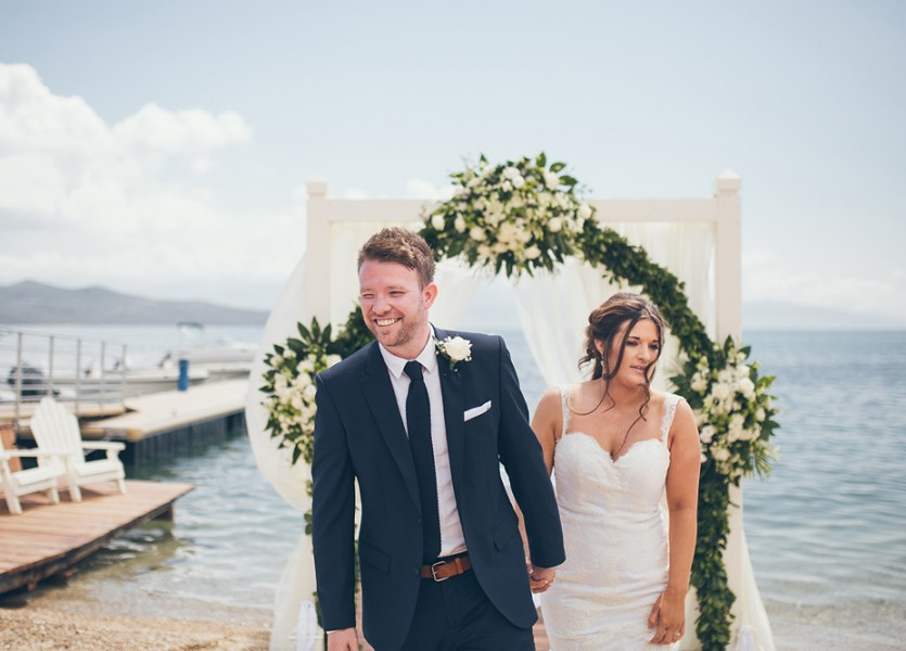 British Wedding in Lefkada