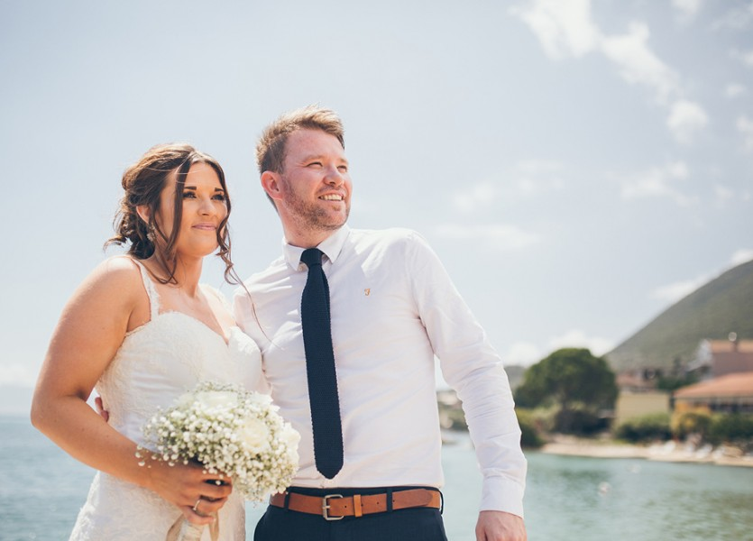 Destination Wedding in Lefkada