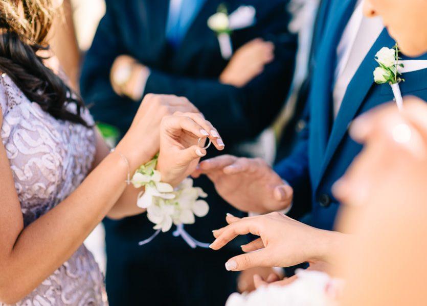 the rings mykonos wedding
